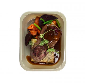 Braised Beef and Boulangere Potatoes